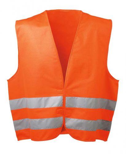 Polyester Warnschutzweste orange