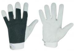 Nappaleder-Handschuhe Power Grip