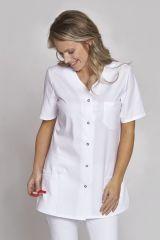 Damenkasack aus TENCEL weiß